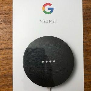 NIB Google Nest Mini in Charcoal